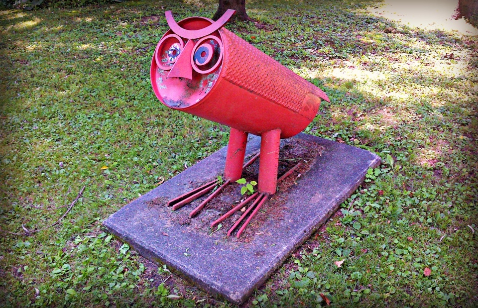 The Mad Owl in Fred Mold Park