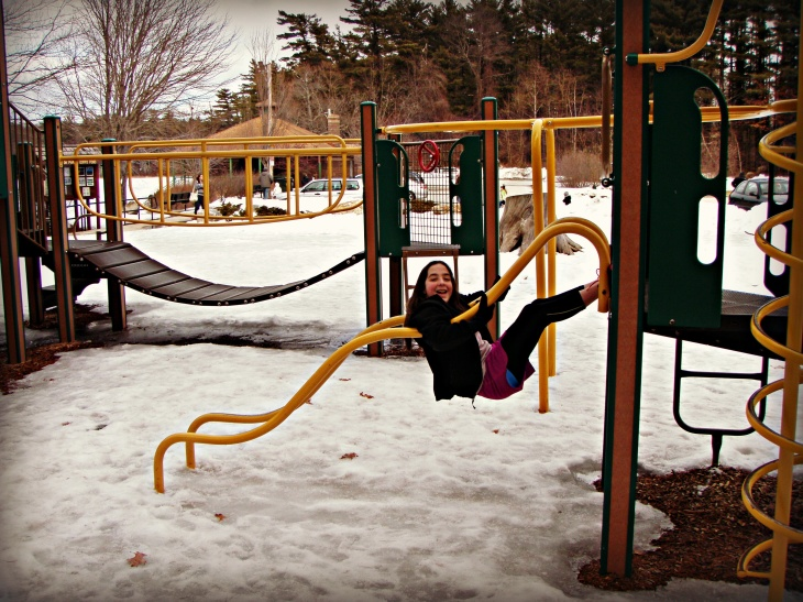 Ice can turn even the most tame playground into an Awesome and Dangerous adventure!